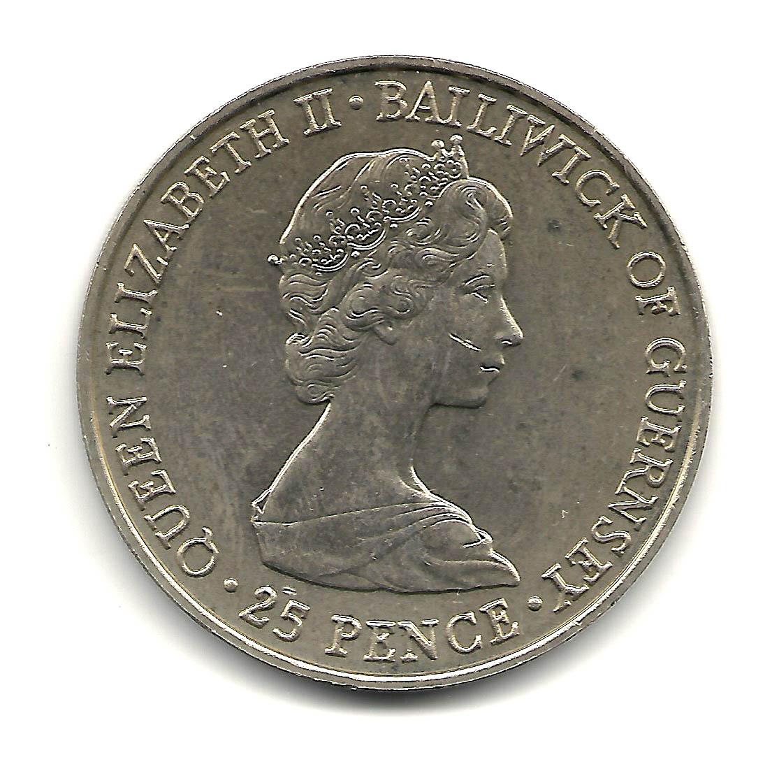 elizabeth ii bailiwick of guernsey coin