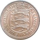 ½ New Penny - Elizabeth II – obverse