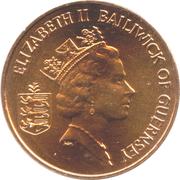2 Pence - Elizabeth II (3rd portrait; non-magnetic) – obverse