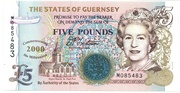 5 Pounds (Year 2000 - Millennium) – obverse
