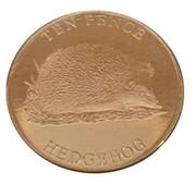 10 Pence - Elizabeth II (Hedgehog) – reverse