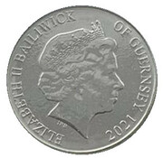 10 Pence - Elizabeth II (Common Dolphin) – obverse