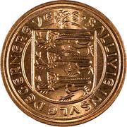 1 New Penny - Elizabeth II – obverse