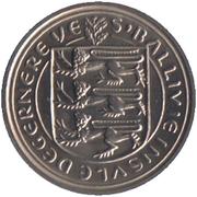5 Pence - Elizabeth II – obverse