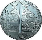5 Pounds - Elizabeth II -  reverse