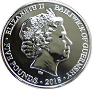 5 Pounds - Elizabeth II (At the Going Down of the Sun) – obverse