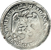 1 Peso (Campo Morado) – obverse