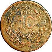 10 Centavos (Emiliano Zapata) – reverse