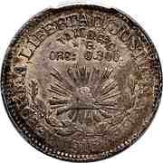 1 Peso (Taxco) – reverse