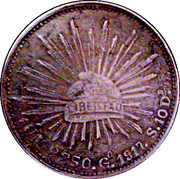 1 Peso (Cacahuatepec) – obverse
