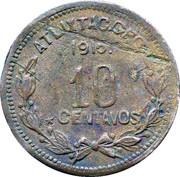 10 Centavos (Atlixtac) – reverse