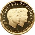 1000 Francs Guinéens (John and Robert Kennedy) – obverse