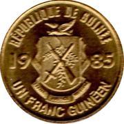 1 Franc Guinéen -  obverse