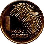1 Franc Guinéen -  reverse