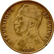 10 Francs Guinéens – obverse