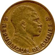 5 Francs Guinéens -  obverse
