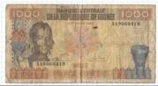 1000 Francs Guinéens – obverse