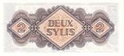 2 Sylis – reverse