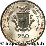 250 Francs Guinéens (Soyuz) – reverse