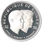 200 Francs Guinéens (John and Robert Kennedy) – obverse