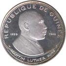 100 Francs Guinéens (Martin Luther King) – obverse