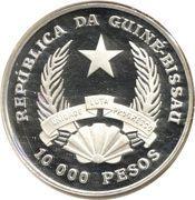 10 000 Pesos (Nuno Tristão) – obverse