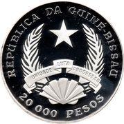20 000 Pesos (FAO - Pineapple Harvest) – obverse