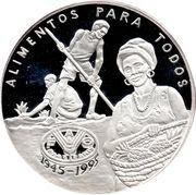 20 000 Pesos (FAO - Pineapple Harvest) – reverse