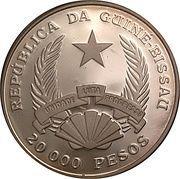 20 000 Pesos (Passat) – obverse