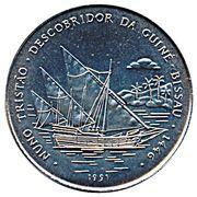 2000 Pesos (Nuno Tristao) – reverse