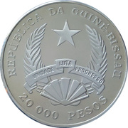 20 000 Pesos (Defense of Nature) – obverse