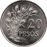 20 Pesos (FAO) – reverse