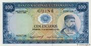 100 Escudos (Portuguese Guinea) – obverse