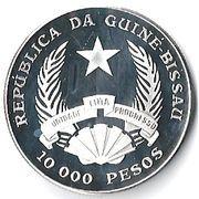 10 000 Pesos (Elephant) – obverse