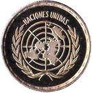 25 Pesetas Guineanas (United Nations) – reverse