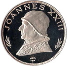 75 Pesetas Guineanas (Pope John XXIII) – reverse