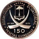 150 Pesetas Guineanas (Rome) – obverse