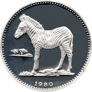 2000 Ekuele (Burchell's Zebra) – reverse