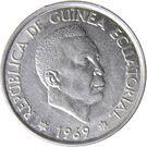 50 Pesetas Guineanas – obverse