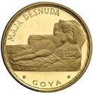 250 Pesetas Guineanas (Maja Desnuda) – reverse