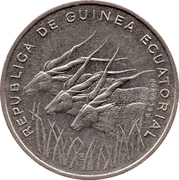 100 Francos CFA – obverse