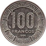 100 Francos CFA – reverse