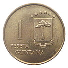 1 Peseta Guineana – reverse