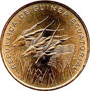 25 Francos CFA – obverse