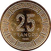 25 Francos CFA -  obverse