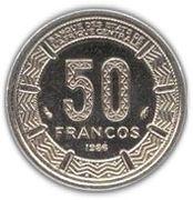 50 Francos CFA – reverse