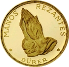 250 Pesetas Guineanas (Dürer's Praying Hands) – reverse