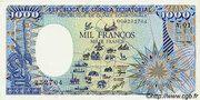 1000 Francos/Francs – obverse