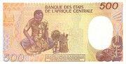 500 Francos/Francs – reverse