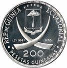 200 Pesetas Guineanas (Francisco Macias) – obverse
